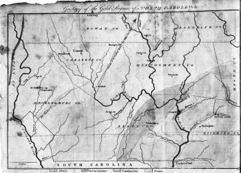 Antebellum Gold Mining 1820 1860