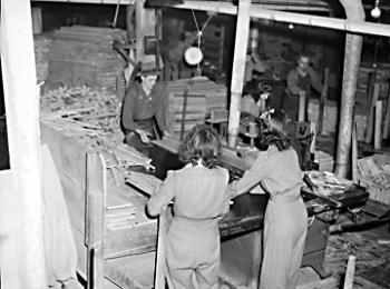 North Carolina Furniture Makers In The 1940s. Image Courtesy Of The North  Carolina Office Of Archives And History, Raleigh, NC.