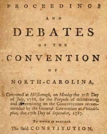 The Antifederalists: North Carolina's Other Founders