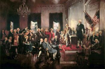 Constitution Day: Tar Heels Take Center Stage in Famous Painting