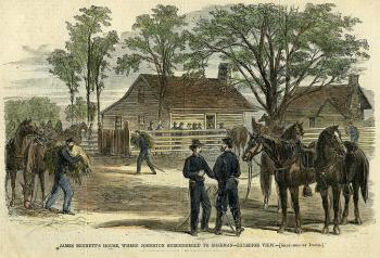 Confederate Surrender at Bennett's Place (April 17-26, 1865)